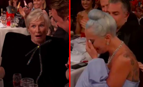 Glenn Close beats Lady Gaga