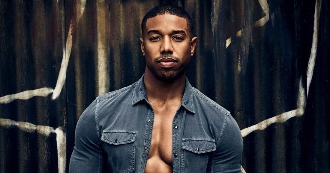Michael B. Jordan looking hot