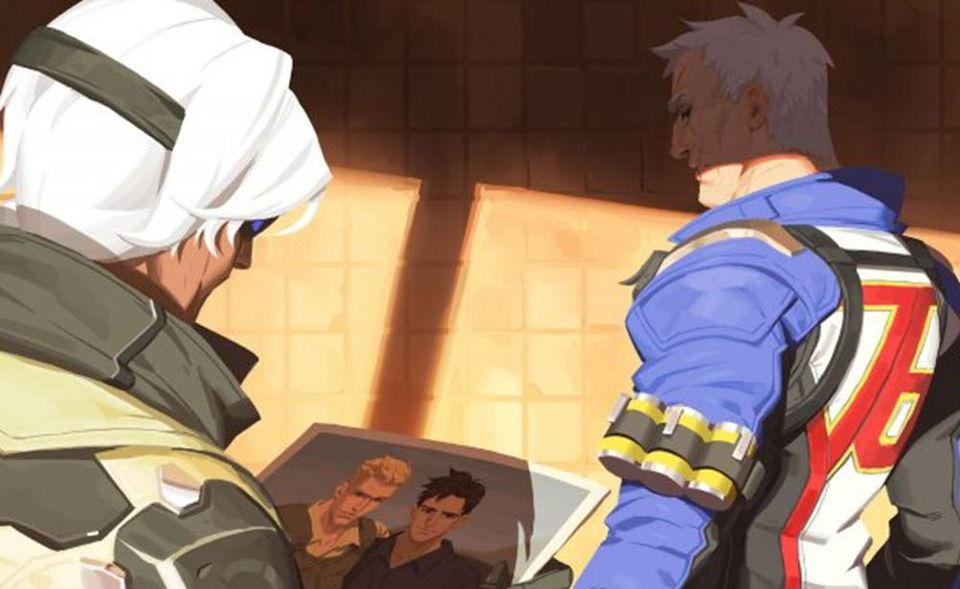 Soldier 76, Overwatch, gay