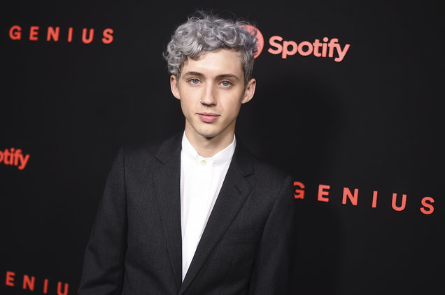 Troye Sivan attends a Spotify event