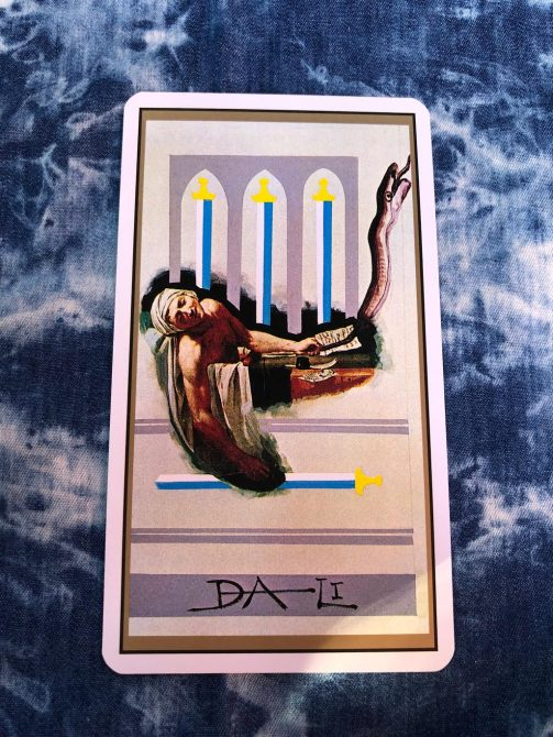 4 of Swords (reversed)