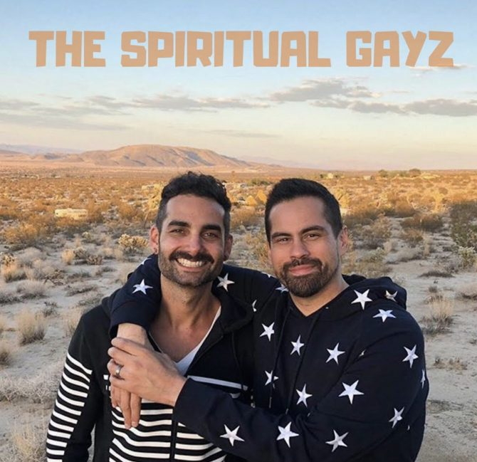 Promo shot for The Spiritual Gays podcast