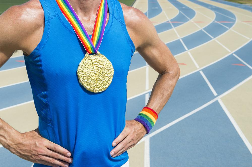 gay athletes, slur, study