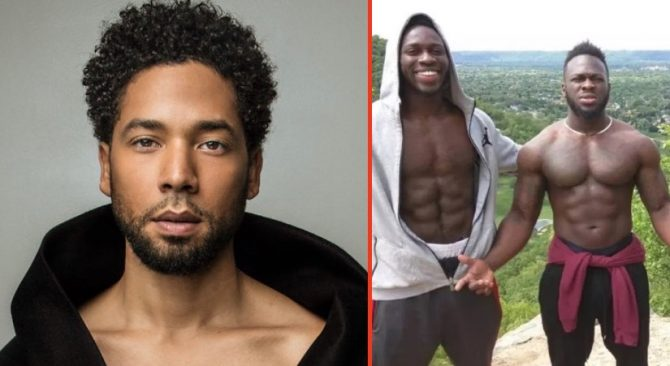 Jussie Smollett and brothers Ola and Abel Osundario
