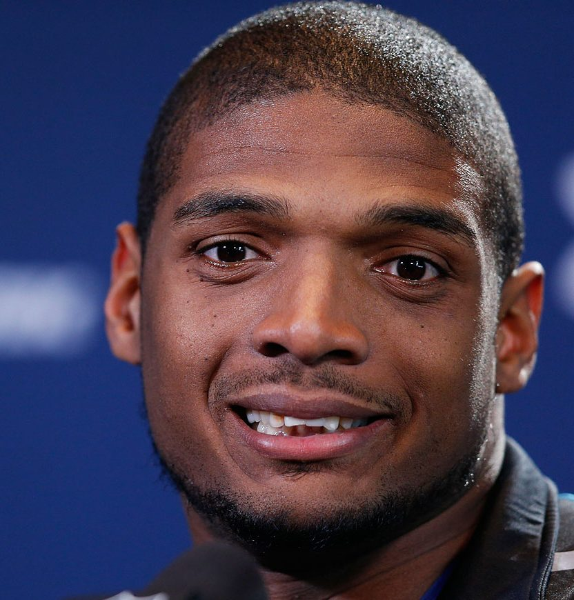 Michael Sam in 2014