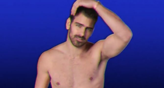 """Still from Nyle Dimarco's appearance on Samantha Bee's """"Full Frontal"""""""