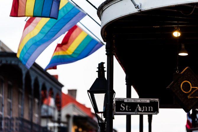 St. Ann street in NOLA