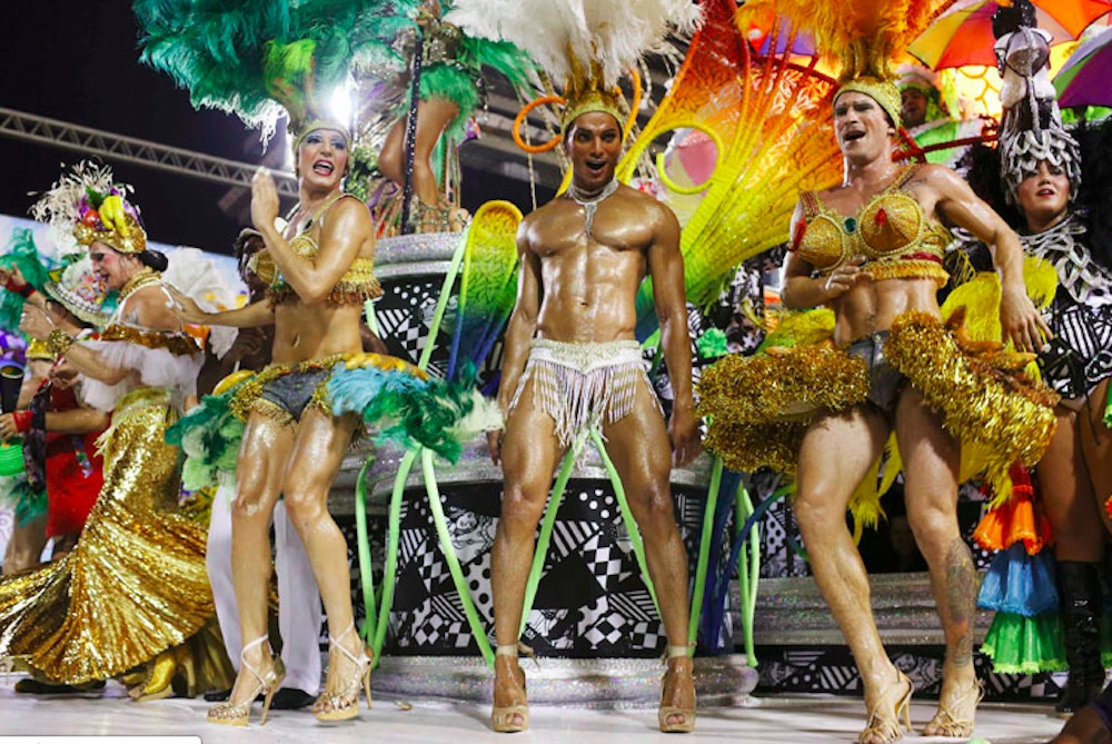 Jair Bolsonaro, Carnival, gay men