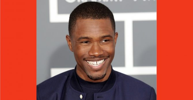 Frank Ocean attends the Grammys in 2013