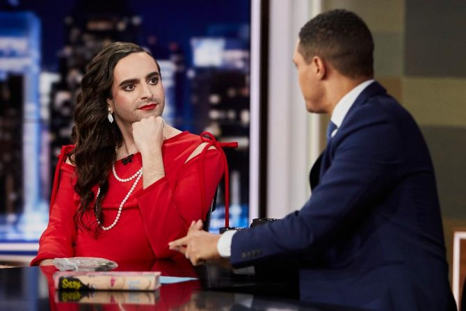 Author Jacob Tobia appears on 'The Daily Show'