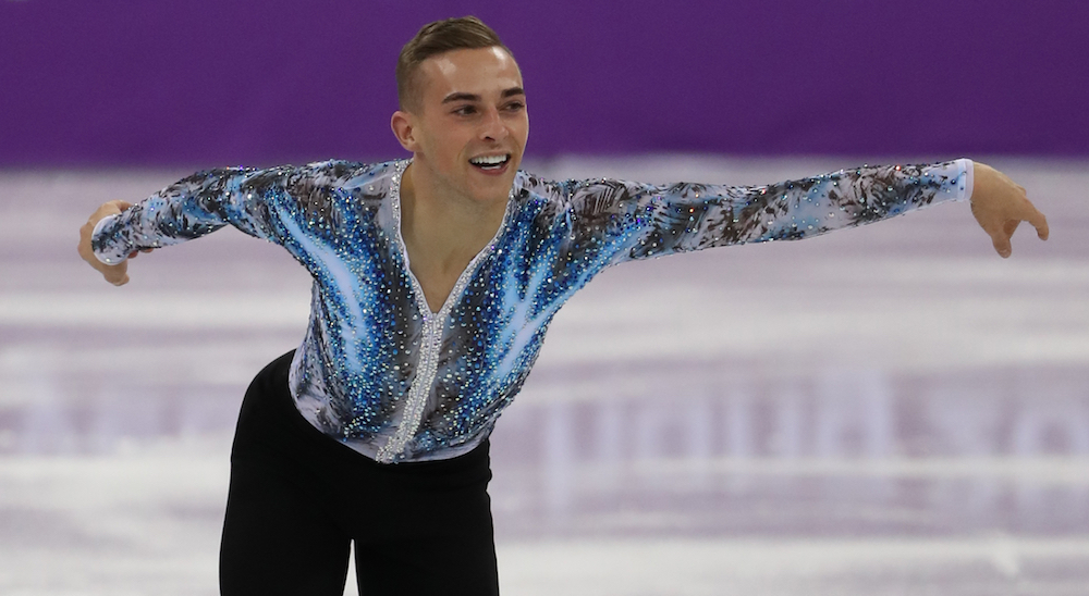 Adam Rippon, Winter Olympics 2018, gay figure skater
