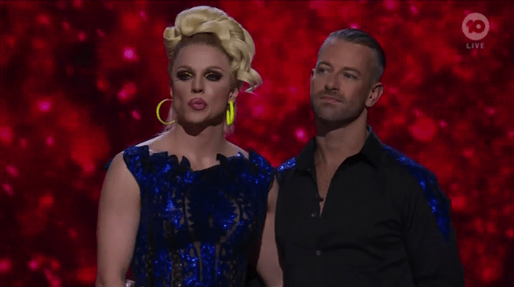 Courtney Act and Joshua Keefe on Australia's