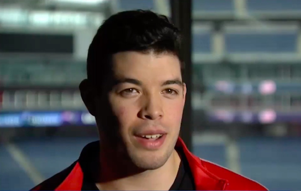 Driss Dallahi, NFL, male cheerleader, New England Patriots
