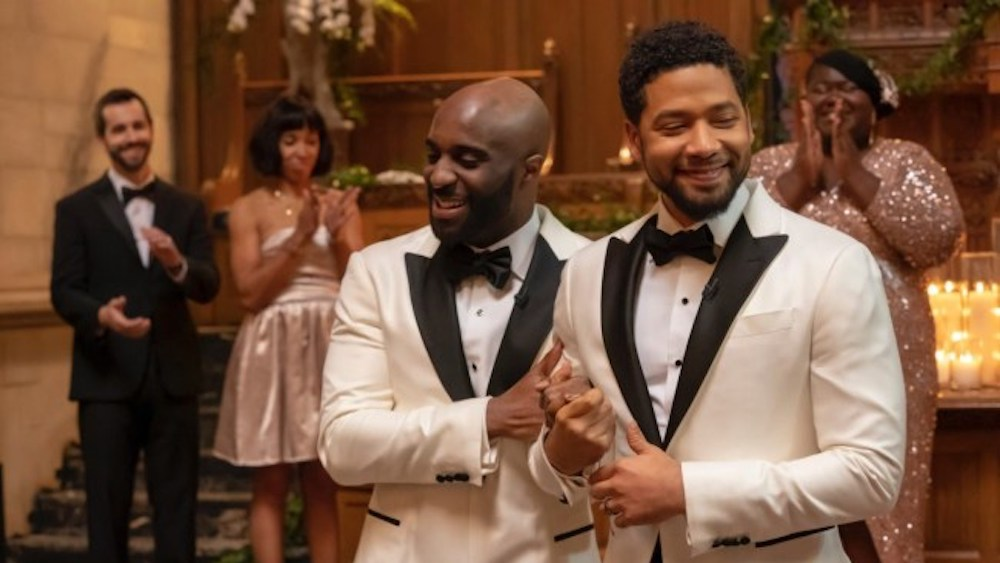 Empire, Jussie Smollett, gay wedding, Jamal Lyons