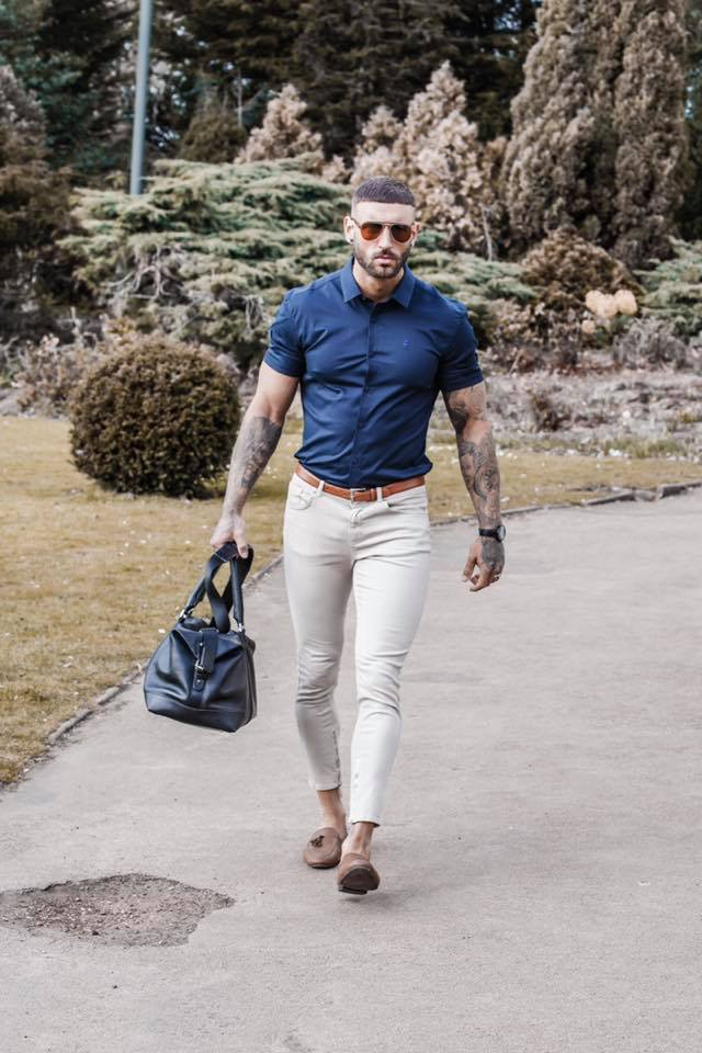 Father & Sons, tight fitting shirts, comments