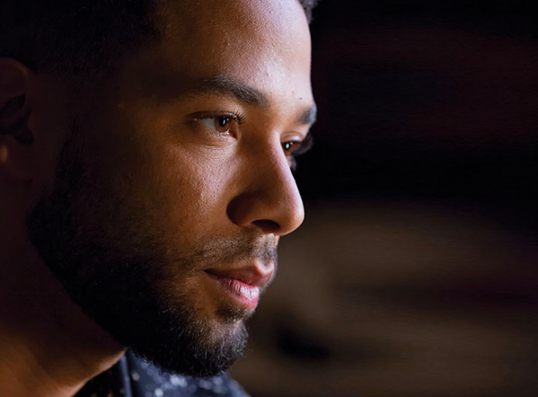 Jussie Smollett in Empire scene