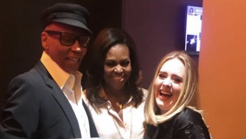 RuPaul, Michelle Obama and Adele
