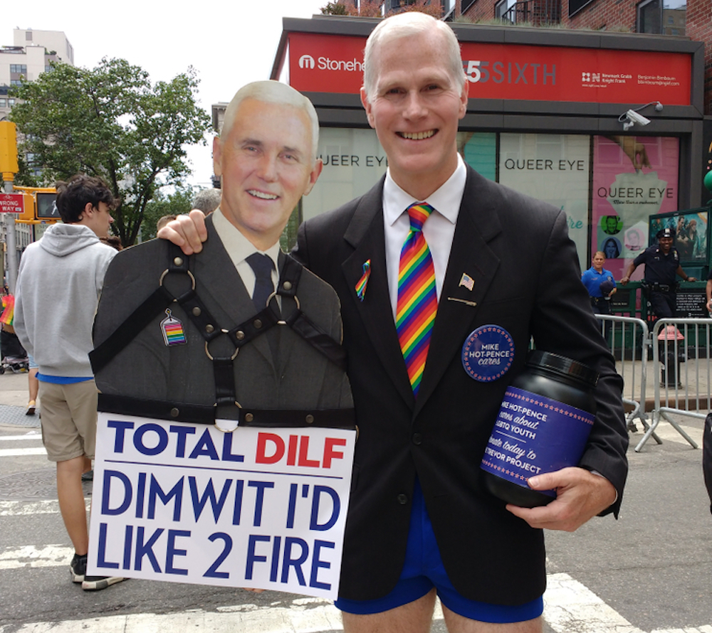 Mike Pence, NYC Pride