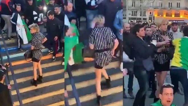 Paris transphobic attack, transgender, viral video, Julia, Algeria