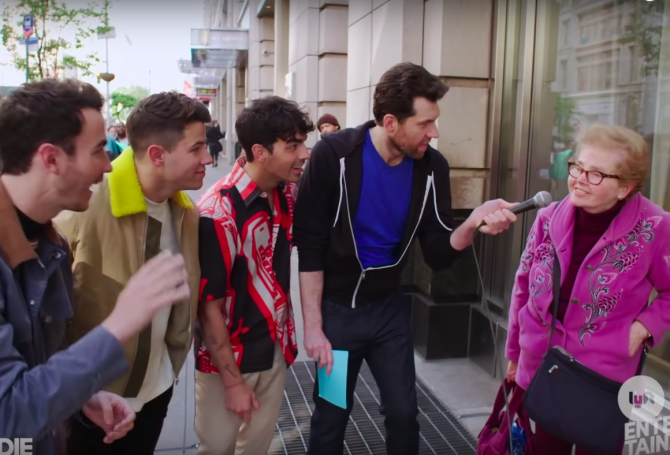 Billy Eichner and the Jonas Brothers