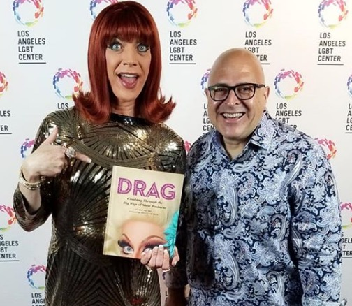 Miss Coco Peru and Frank DeCaro