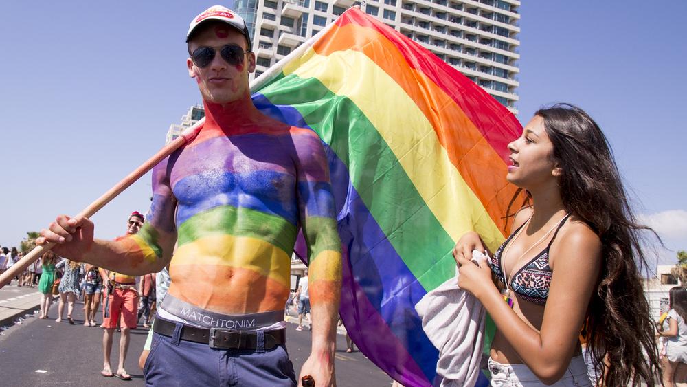 Israeli Pride, rainbow flag, Pride parade