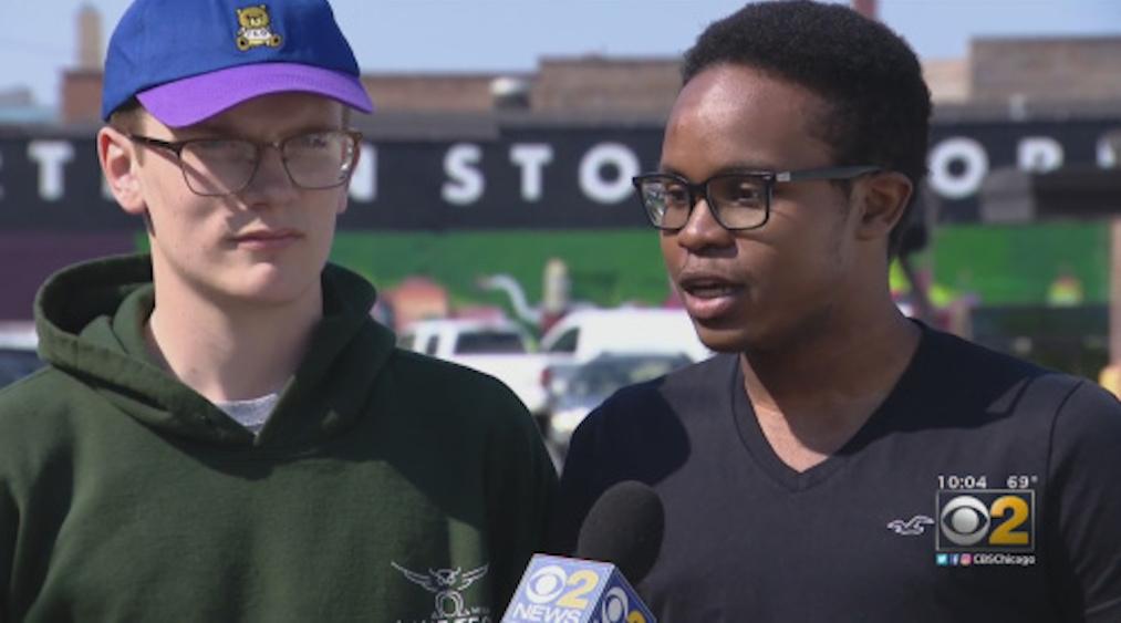 Kendall Anderson, Peder Sevig, Chicago, homophobia