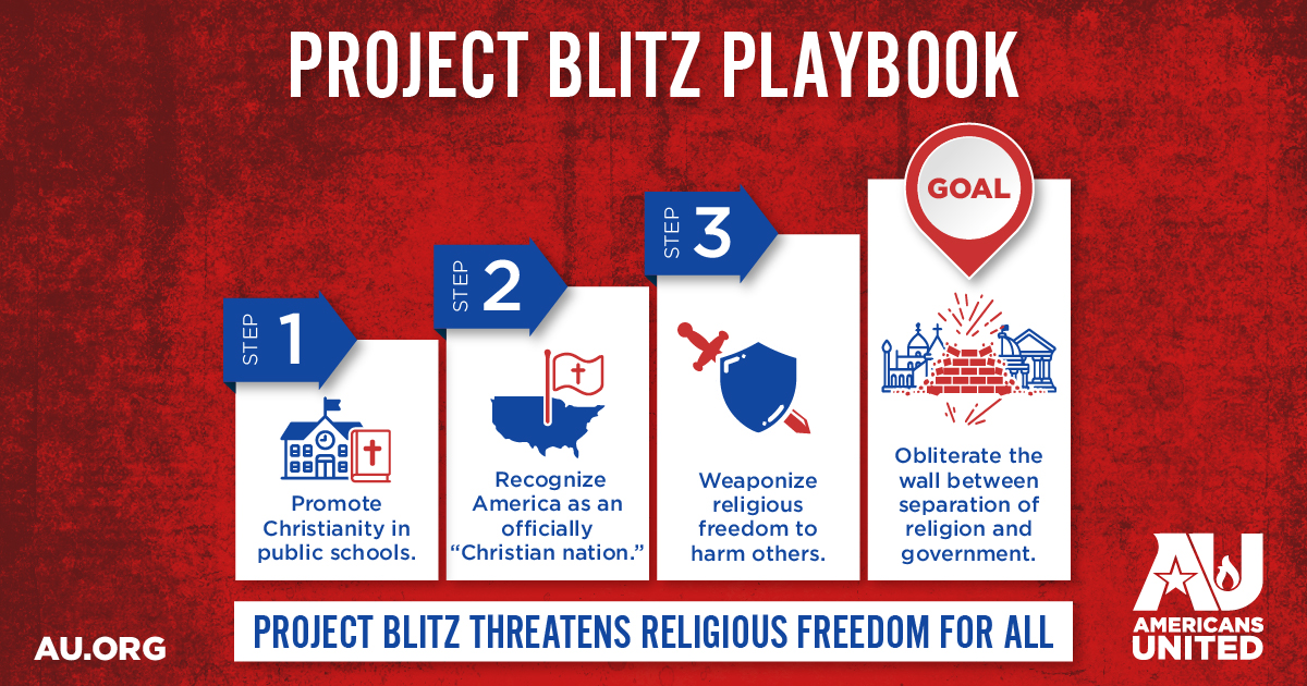 Project Blitz, Americans United