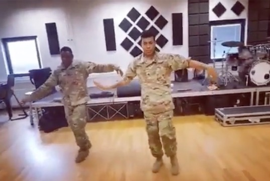 WATCH US soldiers get down to Todrick Hall\u0027s \u0027Nails Hair