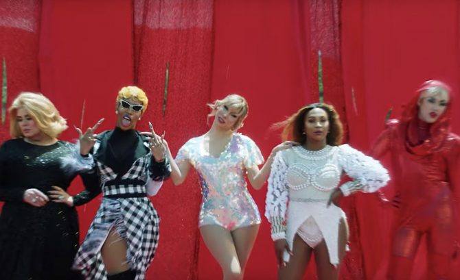 Music Videos With 'RuPaul's Drag Race' Queens: Taylor Swift, Iggy
