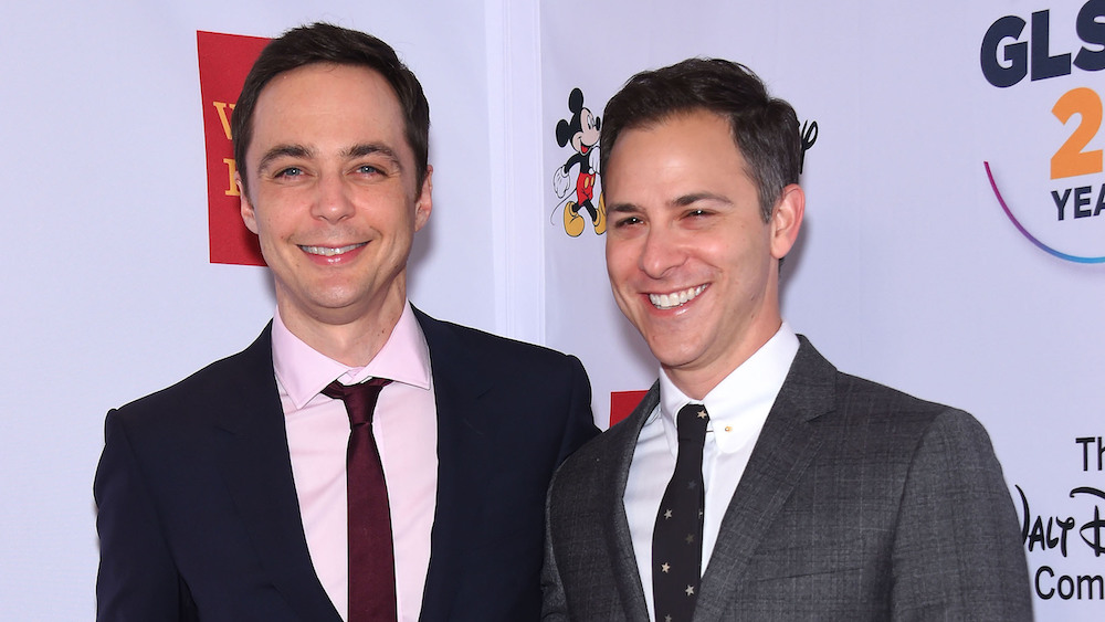 Jim Parsons and Todd Spiewak