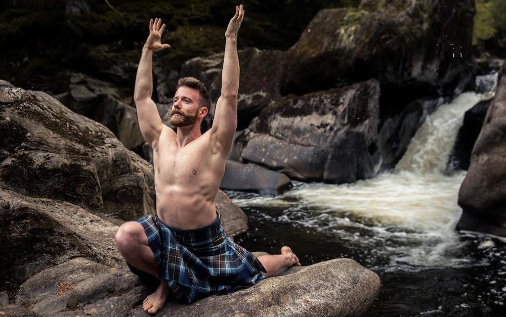 Kilted Yoga, Finlay Wilson