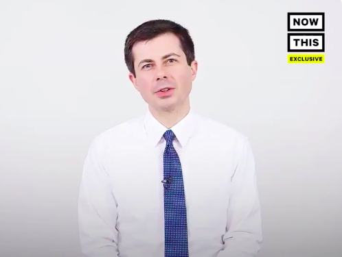 Pete Buttigieg answering 20 questions