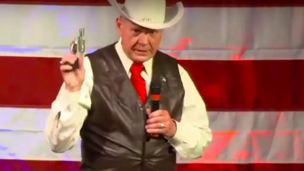 Roy Moore, bigot, Alabama, anti-gay