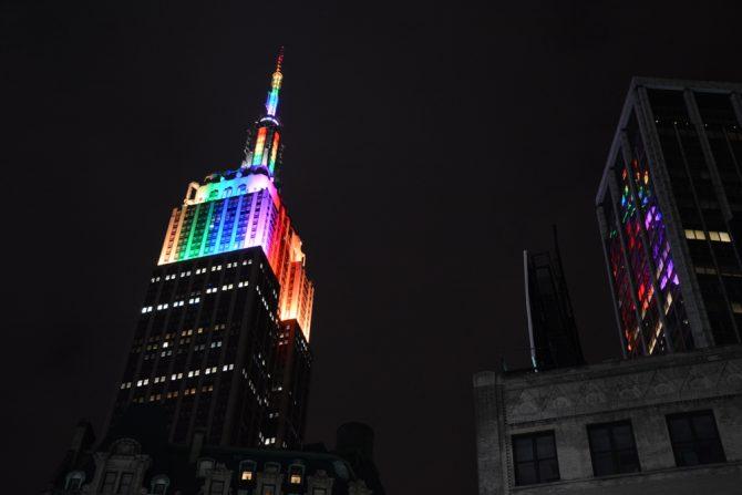 Empire State Building Pride 2015