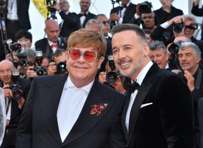 Elton John and David Furish