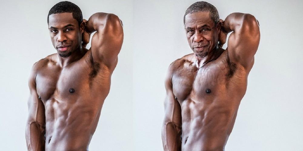 DeAngelo Jackson, gay porn, aging app