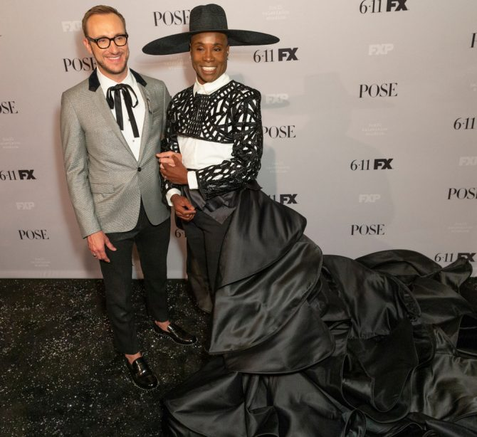 Billy Porter and Adam Smith