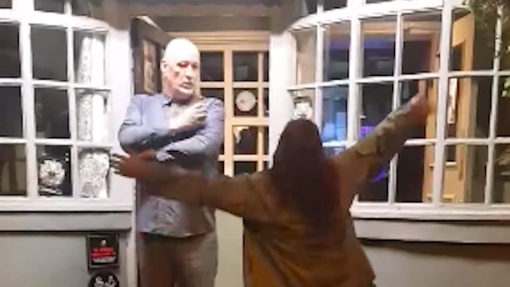Ryan Carrington, homophobe, woman, England, slap