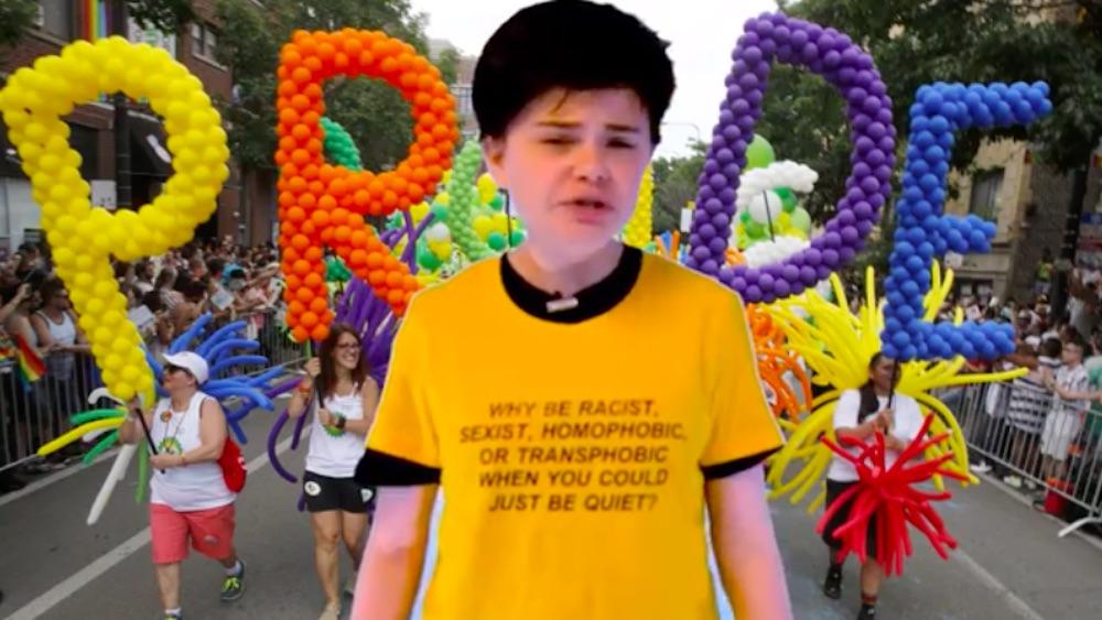 Soph, anti-gay, YouTube, 14-year-old