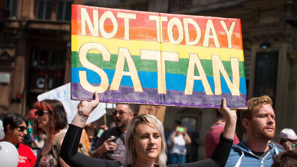 pride, protestor, LGBTQ, Trump