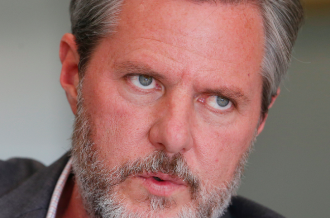 Medics responding to late night 911 call from Jerry Falwell Jr.
