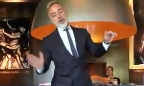 Gianluca Vacchi dancing