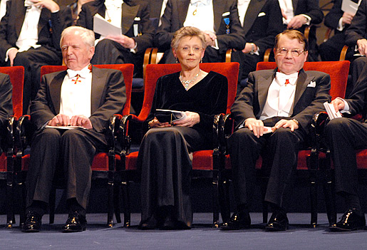 Nobel 2008 award ceremonies