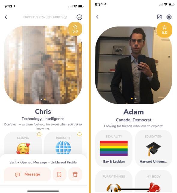Gay text dating Kanada