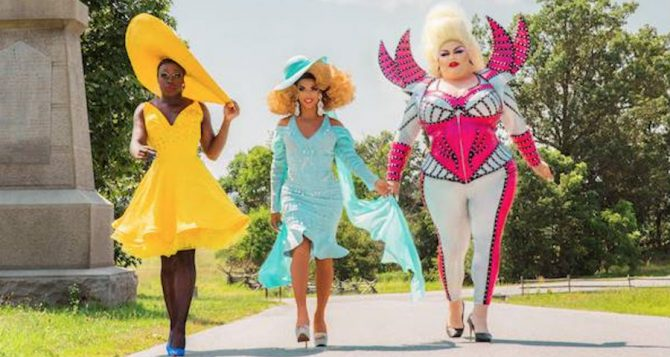 Bob the Drag Queen, Shangela and Eureka O'Hara in new show, We're Here