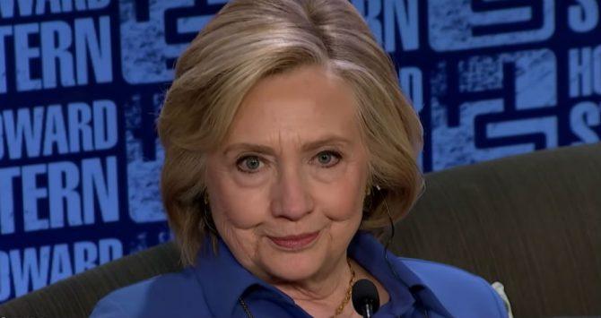 Hillary Clinton on the Howard Stern Show