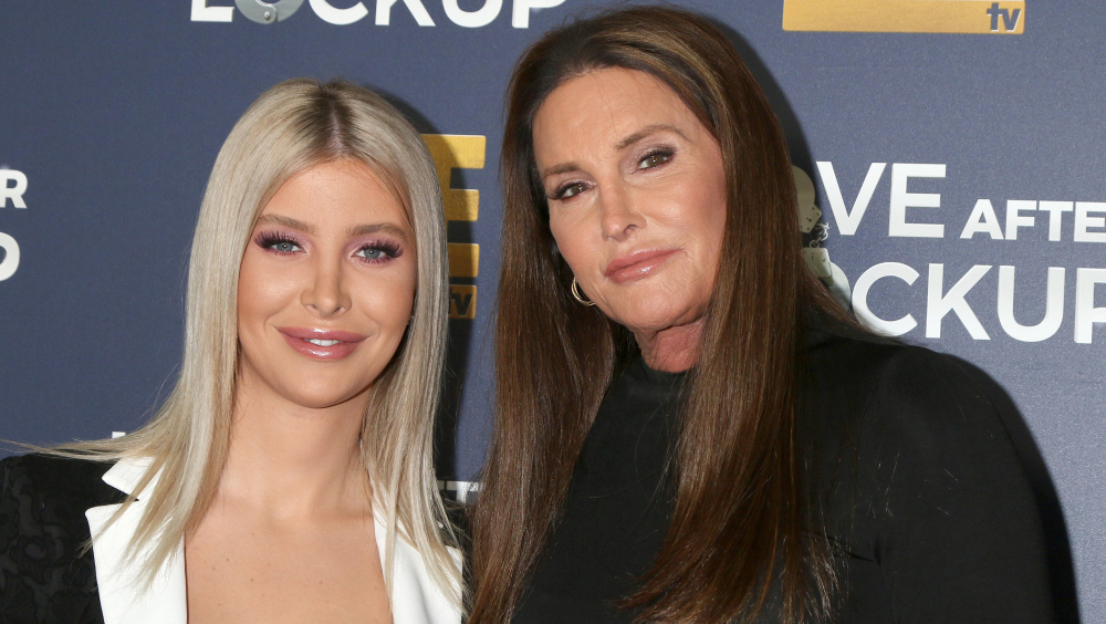 Sophia Hutchins, Caitlyn Jenner at the WE tv's Real Love: Relationship Reality at the Paley Center for Media on December 11, 2018 in Beverly Hills, CA