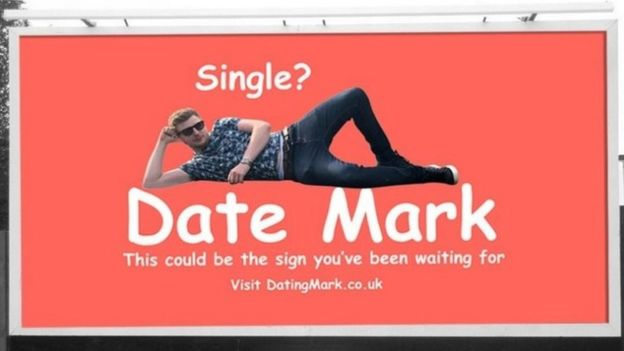 Straight dude buys billboard hoping to land a date, disappointed when most respondents are men