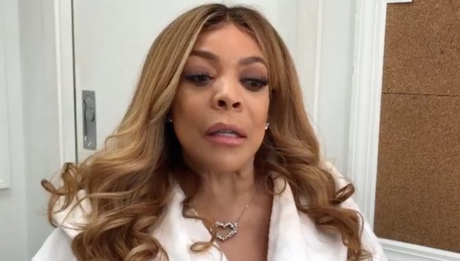 WATCH: Wendy Williams fights back tears apologizing to LGBTQ viewers
